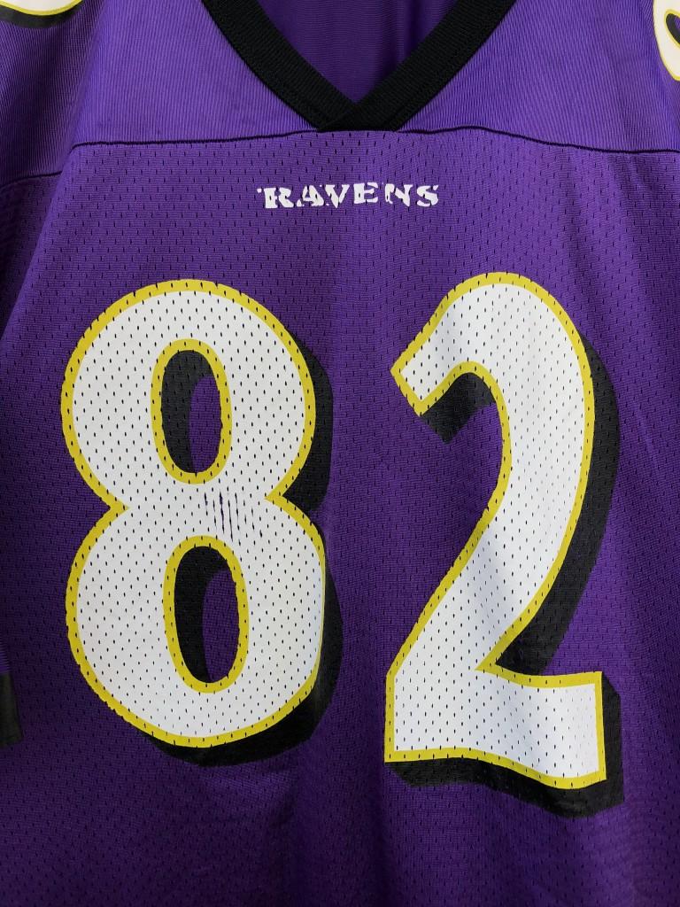 quality design 97109 f043b 2000 Shannon Sharpe Baltimore Ravens Champion NFL Jersey Size 48