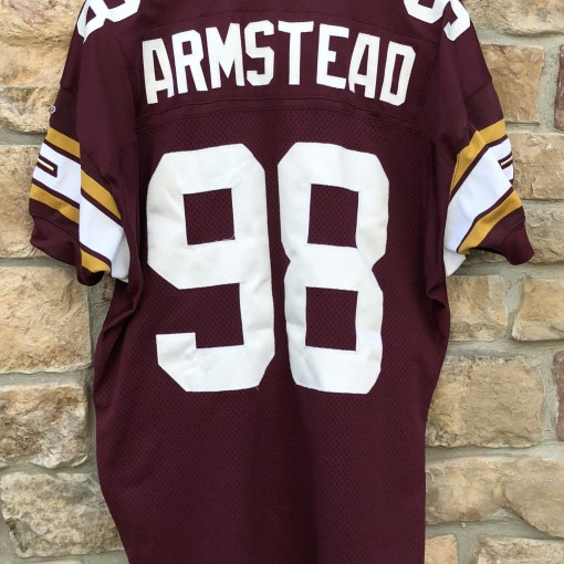Jesse Armstead Washington Redskins 70th anniversary throwback authentic Reebok nfl jersey size 54