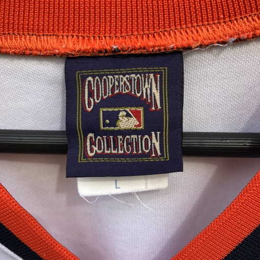 Cooperstown Collection Houston Astros Tequila Sunrise rainbow jersey size large majestic