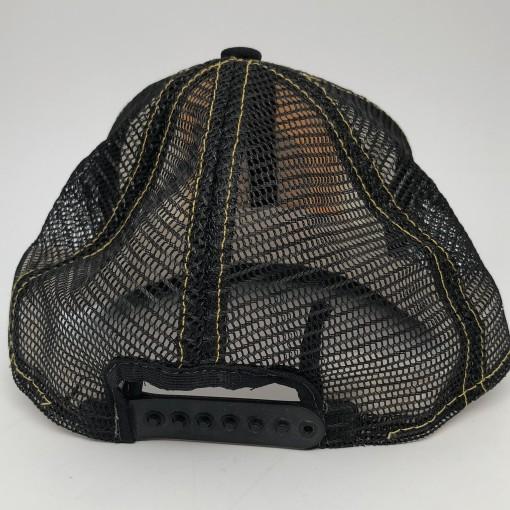 80's Boston Bruins AJD vintage mesh trucker snapback hat