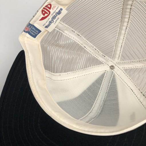 1984 Super Bowl XVIII mesh snapback hat los angeles radiers washington redskins