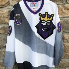 1996 Wayne Gretzky Burger King Los Angeles Kings CCM NHL Alternate Jersey vintage Original
