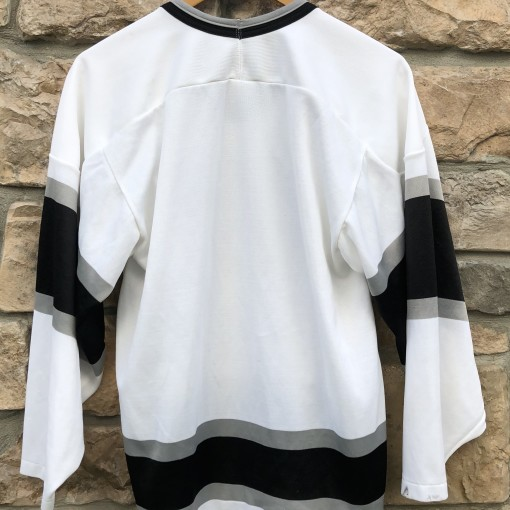 90's Los Angeles Kings CCM NHL jersey NWA black silver size medium