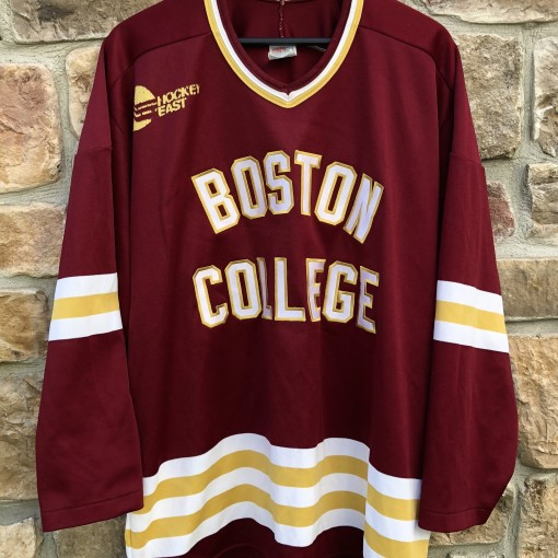 90's Boston College Eagles vintage CCM hockey jersey size XL