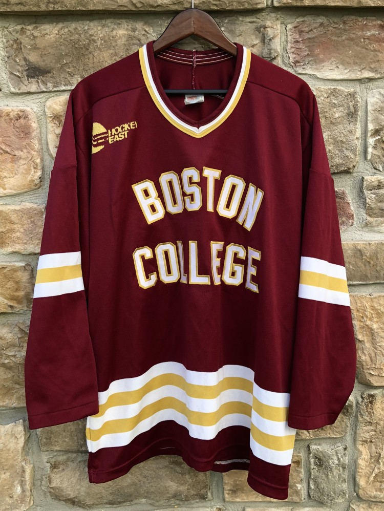5385bf775 ... 90s boston college eagles vintage ccm hockey jersey size xl