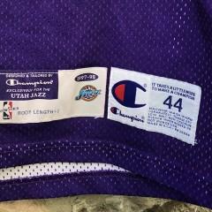 1997-98 Pro Cut authentic Utah Jazz Nate Erdmann Pro Cut NBA jersey size 44 +2