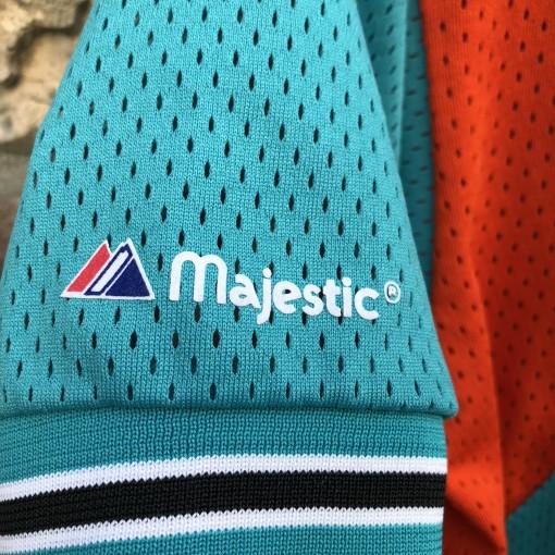 90's Miami Dolphins Majestic Baseball Jersey size Large