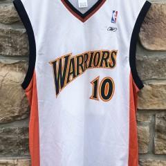 2003 Mike Dunleavy Golden State warriors reebok nba jersey size medium #10