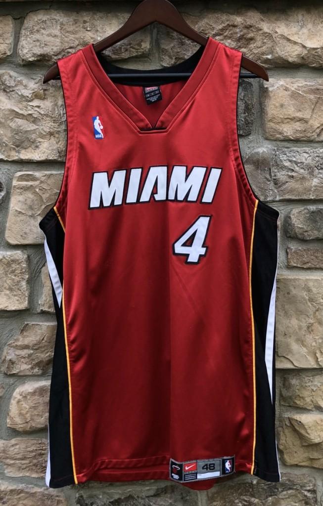 los angeles 9fbf1 34953 2003 Caron Butler Miami Heat Authentic Nike NBA Jersey Size 48