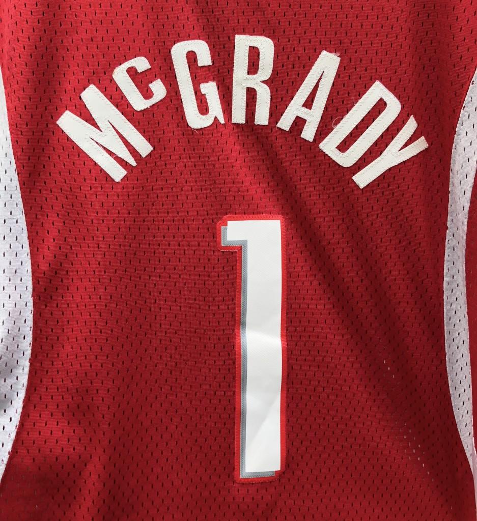 62c6bfbed09 2006 Tracy McGrady houston Rockets adidas nba swingman jersey size large red