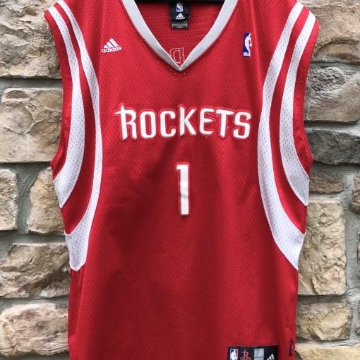 2006 Tracy McGrady houston Rockets adidas nba swingman jersey size large red