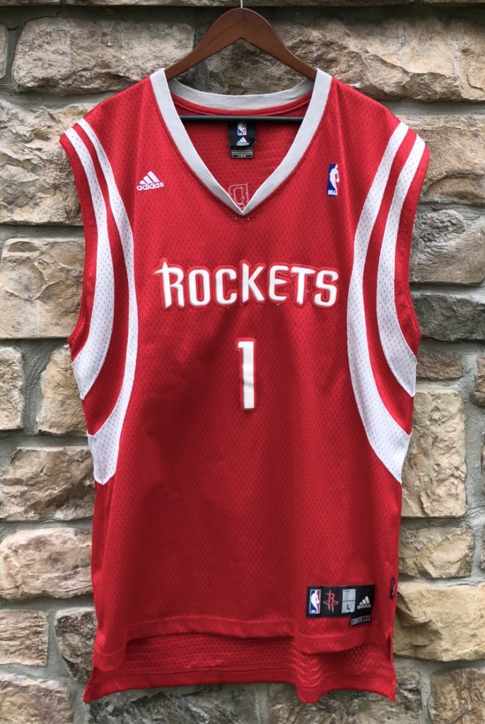a03fa2d6f6b7 2006 Tracy McGrady houston Rockets adidas nba swingman jersey size large red