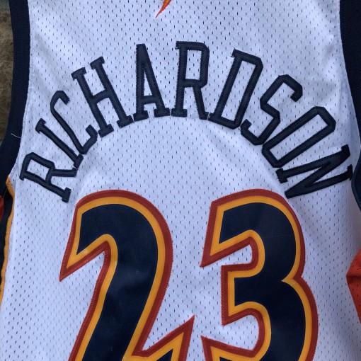 2003 Jason Richardson Golden State Warriors Nike Swingman NBA jersey size XXL