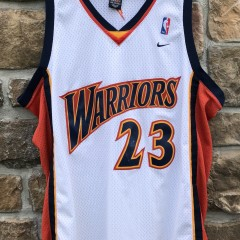 2003 Jason Richardson Golden State Warriors Nike Swingman NBA jersey size XXL
