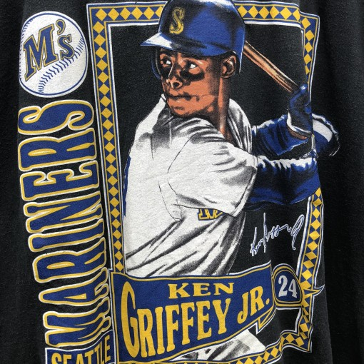 1991 Seattle Mariners Ken Griffey JR Vintage Nutmeg Mills MLB T shirt