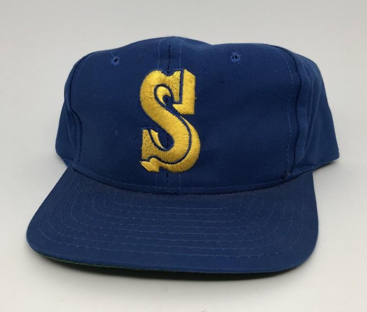 77a7bd29 80's Seattle Mariners MLB Snapback Hat | Rare Vntg