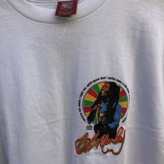 vintage 90's Bob Marley excuse me while I light my spliff balzout t shirt size XL