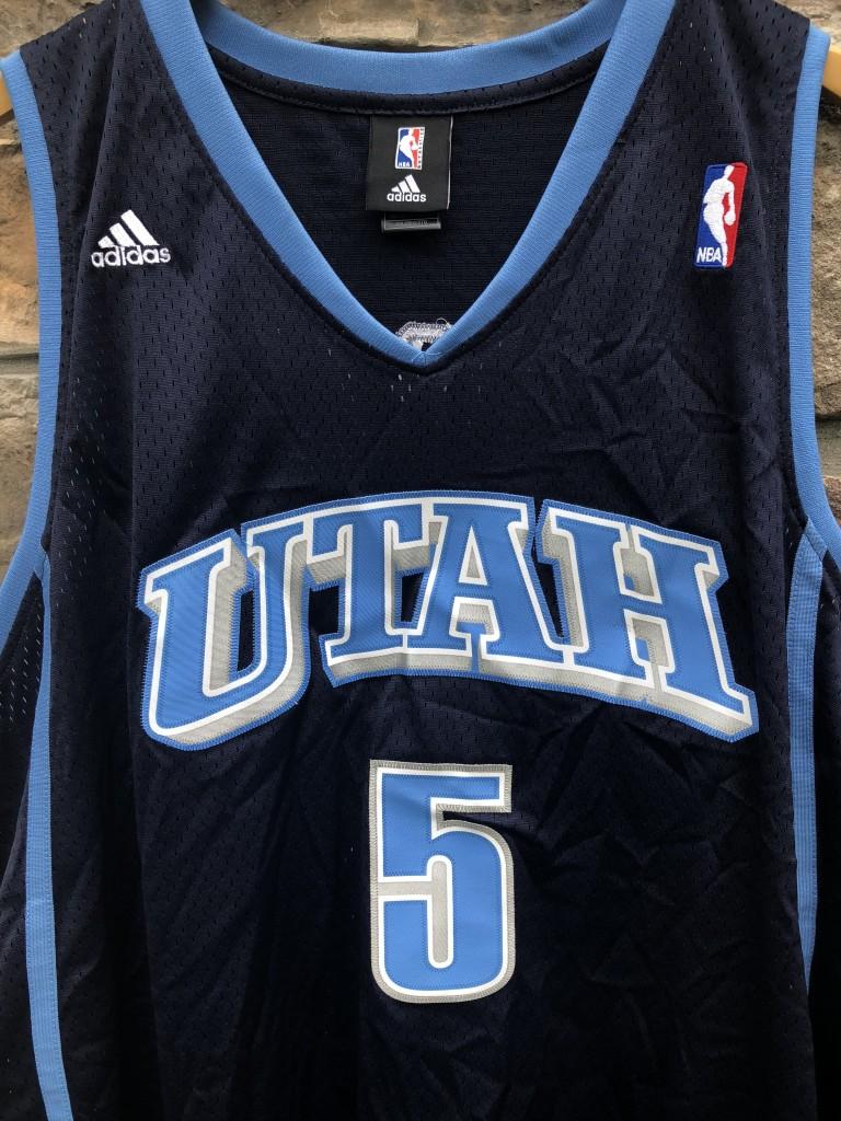 save off 13564 42e32 2006 Carlos Boozer Utah Jazz Adidas Swingman NBA Jersey Size XXL