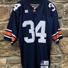 1985 Bo Jackson Auburn Tigers Authentic retro russell ncaa football jersey size 48