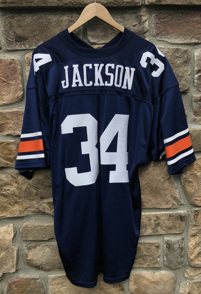 best sneakers 3072b 90595 1985 Bo Jackson Auburn Tigers Russell Authentic NCAA Jersey Size 48