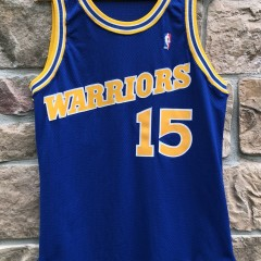 1994-95 Latrell Sprewell Golden State Warriors Champion Pro Cut Authentic NBA Jersey size 46