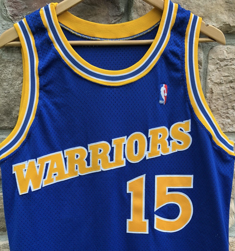 9592e9f5040 ... Latrell Sprewell Golden State Warriors Champion Pro Cut Authentic NBA Jersey  size 46. IMG_0138. IMG_0139