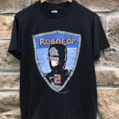 Original vintage 90's 1990 Robo Cop 2 Movie T shirt size medium single stitch