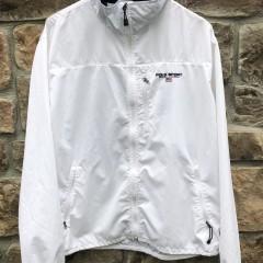 90's Polo Sport Ralph Lauren USA Windbreaker jacket white size XL