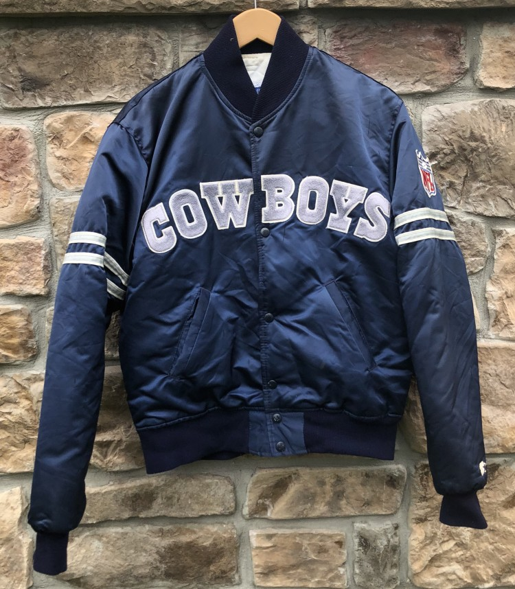 check out 795ee 7cb88 90's Dallas Cowboys Starter Satin NFL Jacket Size Medium