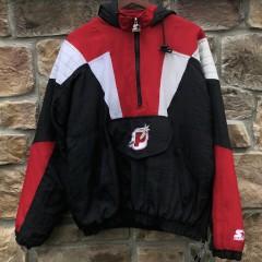 90's Portland Pirates AHL Starter Pullover Jacket Size Medium