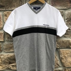 90's Polo Sport v neck crewneck t shirt size medium