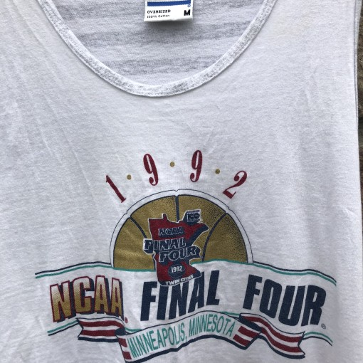 1992 NCAA Final Four Tank Top Gear size medium