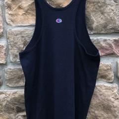 90's Champion Tank Top Shirt Navy size medium