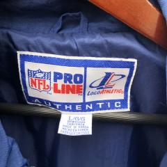 90's New England Patriots Pro Line authentic windbreaker jacket size Large logo athletic