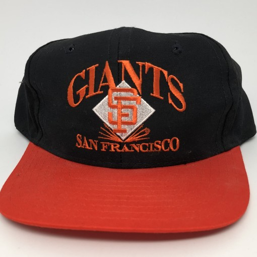 90's San Francisco Giants Signature mlb snapback hat vintage deadstock