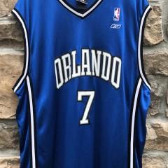 2007 JJ redick Orlando Magic autographed Reebok NBA jersey size XL