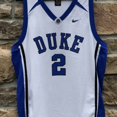 7a2148208 2000s Vintage Duke Blue Devils Nike NCAA basketball jersey size XL Nolan  Smith