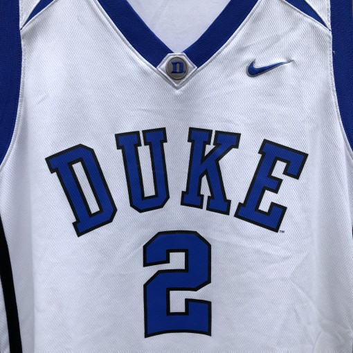 2000s Vintage Duke Blue Devils Nike NCAA basketball jersey size XL Nolan Smith, Josh Mcroberts Luol Deng