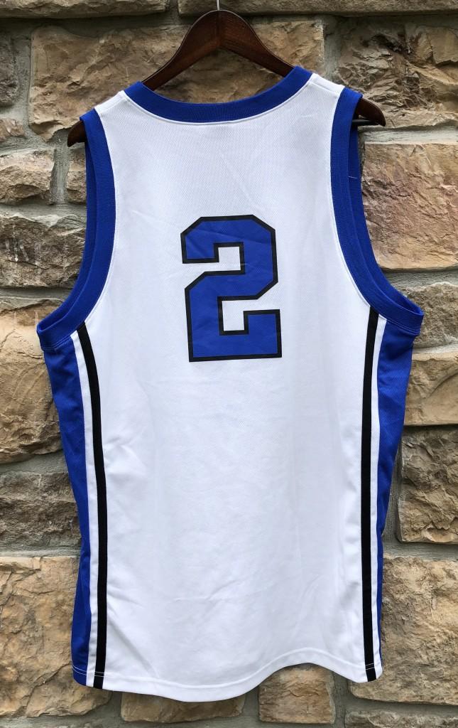 d56f08728b4f 2000s Vintage Duke Blue Devils Nike NCAA basketball jersey size XL Nolan  Smith