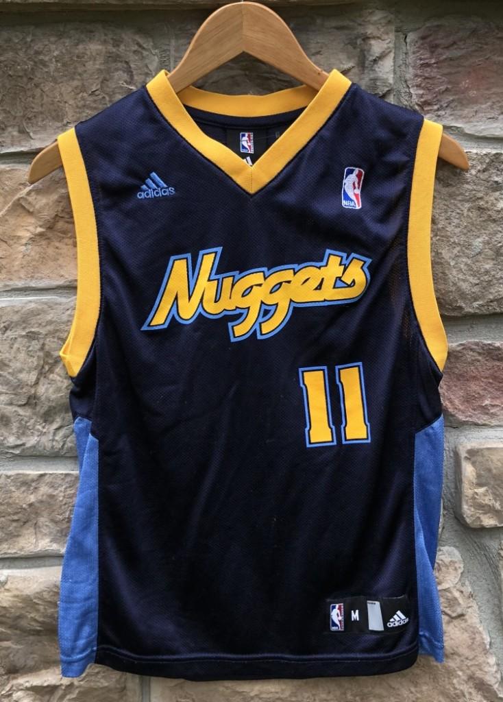 pretty nice ea2fa ee023 2010 Chris Anderson Denver Nuggets Adidas NBA Jersey Youth Medium