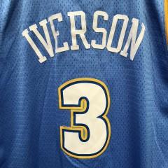 2006 Allen Iverson Denver Nuggets Adidas Swingman NBA jersey size XL