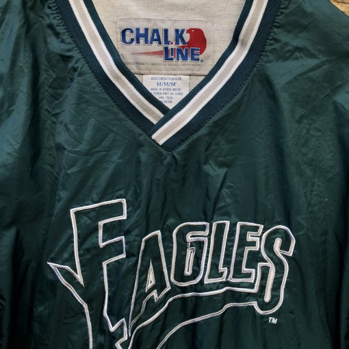 1996 Philadelphia Eagles Chalkline Windbreaker Jacket NFL vintage size Medium