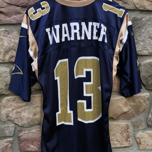 2001 Kurt Warner St. Louis rams Nike NFL vintage jersey size Medium