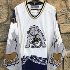 90's Long Beach Bulldogs ECHL  hockey jersey size XXL
