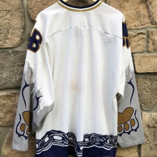 90's Long Beach Bulldogs ECHL  hockey jersey size XXL