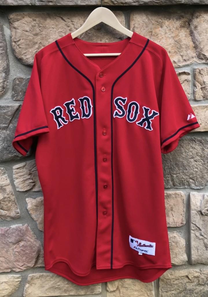 finest selection 37b63 54154 2003 Manny Ramirez Boston Red Sox Majestic Authentic Alternate MLB Jersey  Size 44