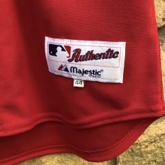 00's Manny Ramirez Boston Red Sox Authentic red alternate MLB jersey size 44 large