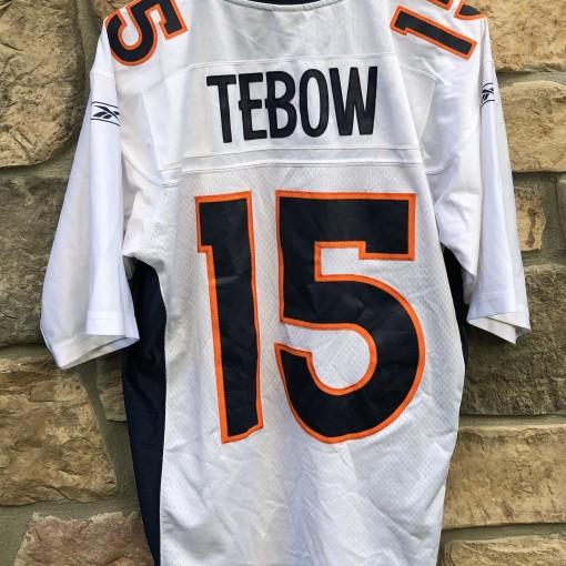 Vintage Tim Tebow Denver Broncos Reebok Swingman NFL jersey size Medium