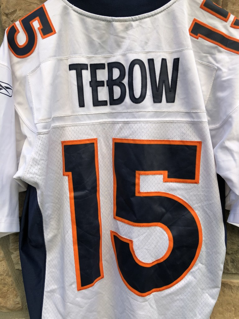 more photos 06de5 4d00b 2010 Tim Tebow Denver Broncos Reebok Swingman NFL Jersey Size Medium