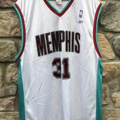 vintage Memphis Grizzlies Shane Battier Reebok deadstock NBA jersey size XL